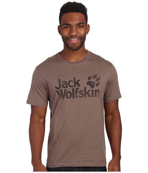 Jack Wolfskin - Logo OC T-Shirt (Siltstone) Men