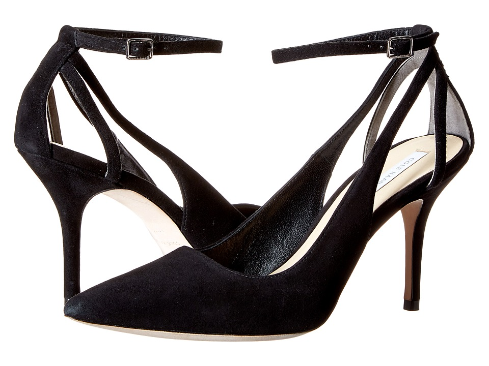 Cole Haan - Selma Pump 85 (Black Suede) High Heels