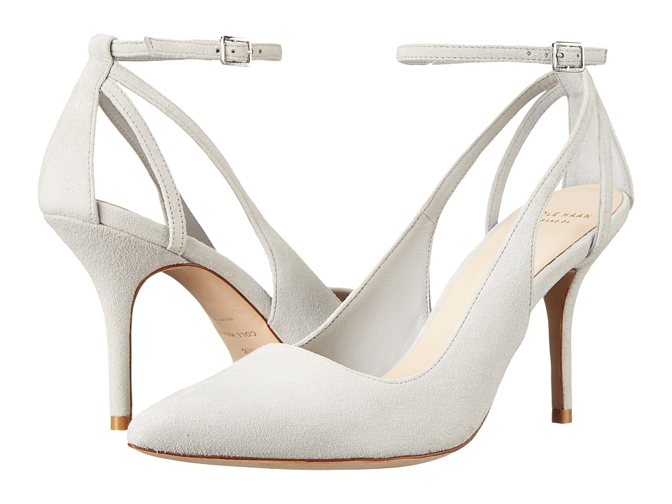 Cole Haan - Selma Pump 85 (Vapor Grey Suede) High Heels