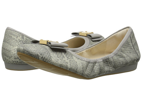 Cole Haan - Tali Bow Ballet (Paloma Snake Print) Women's Slip on Shoes