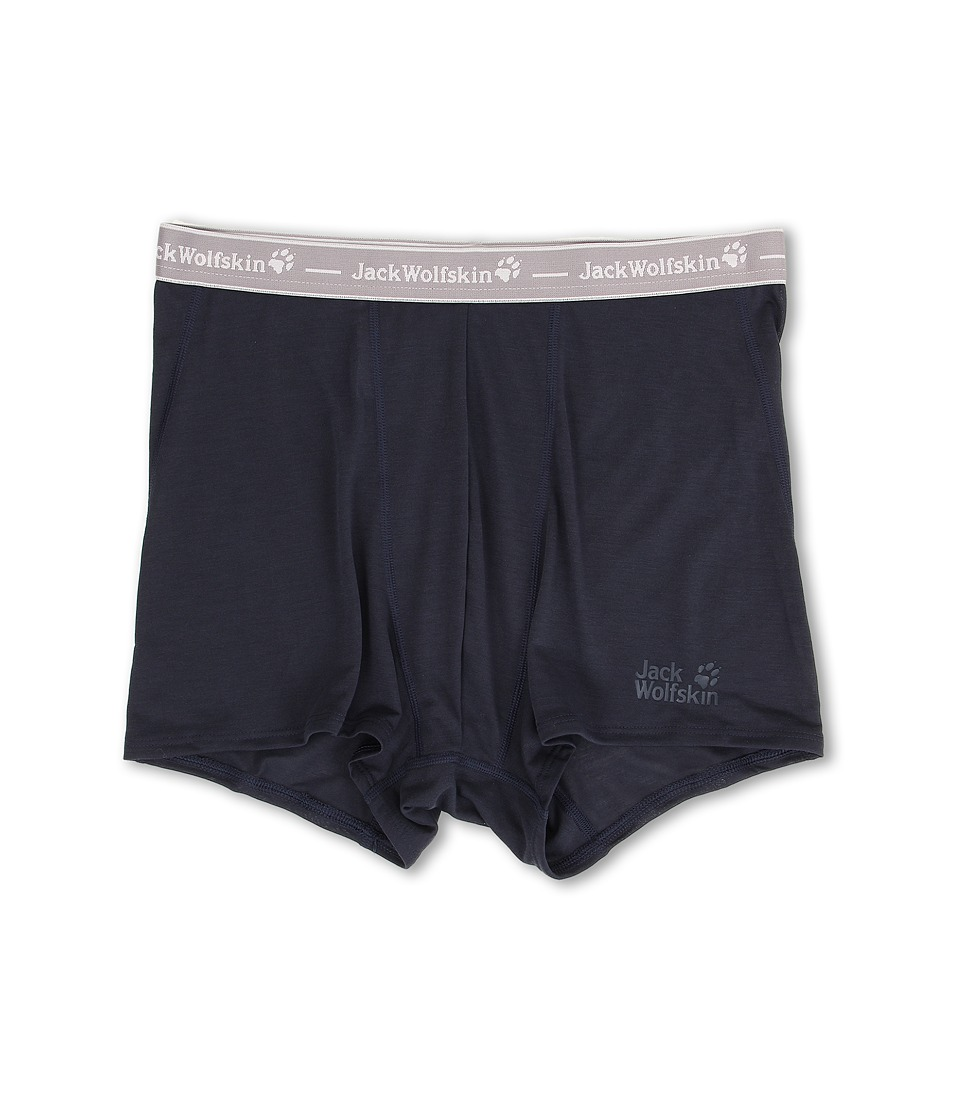 Jack Wolfskin - Dry N' Light Shorts (Night Blue) Men's Underwear
