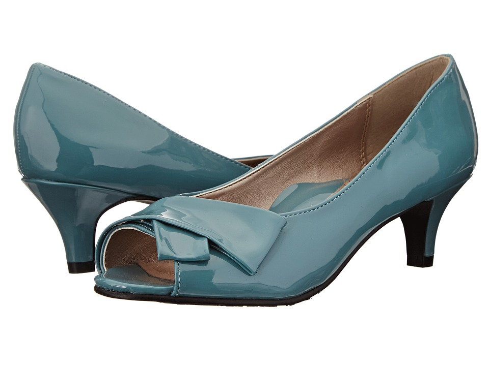 Soft Style - Aubrey (Soft Blue Patent) Women's 1-2 inch heel Shoes