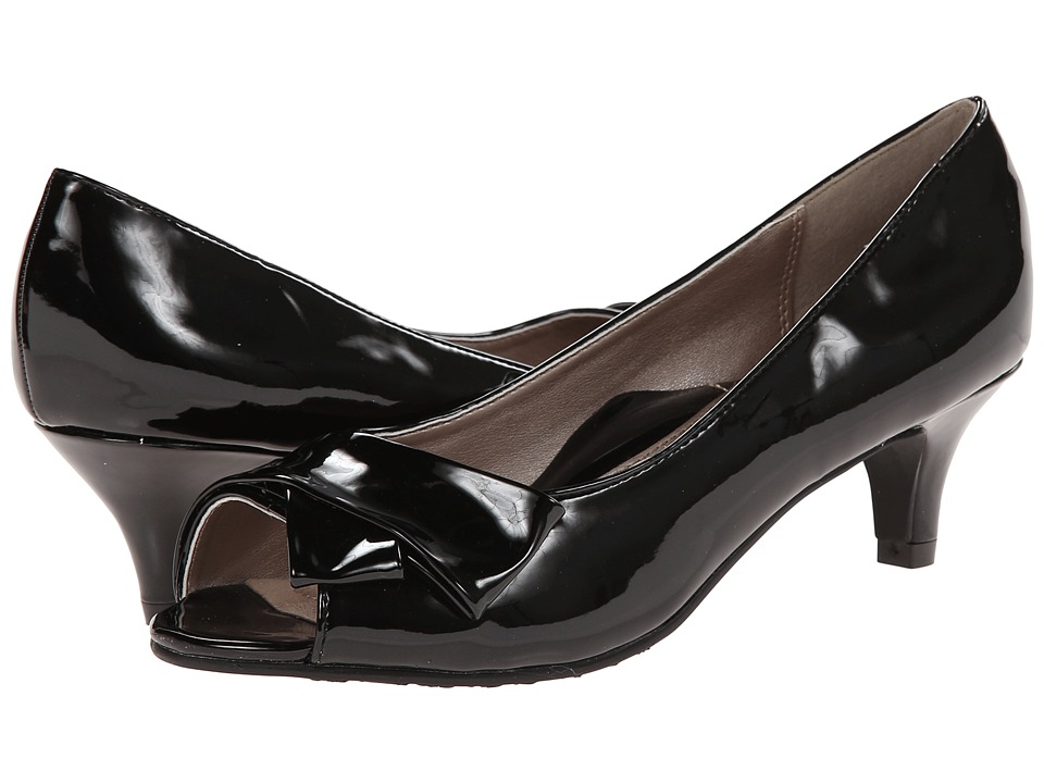 Soft Style - Aubrey (Black Patent) Women's 1-2 inch heel Shoes