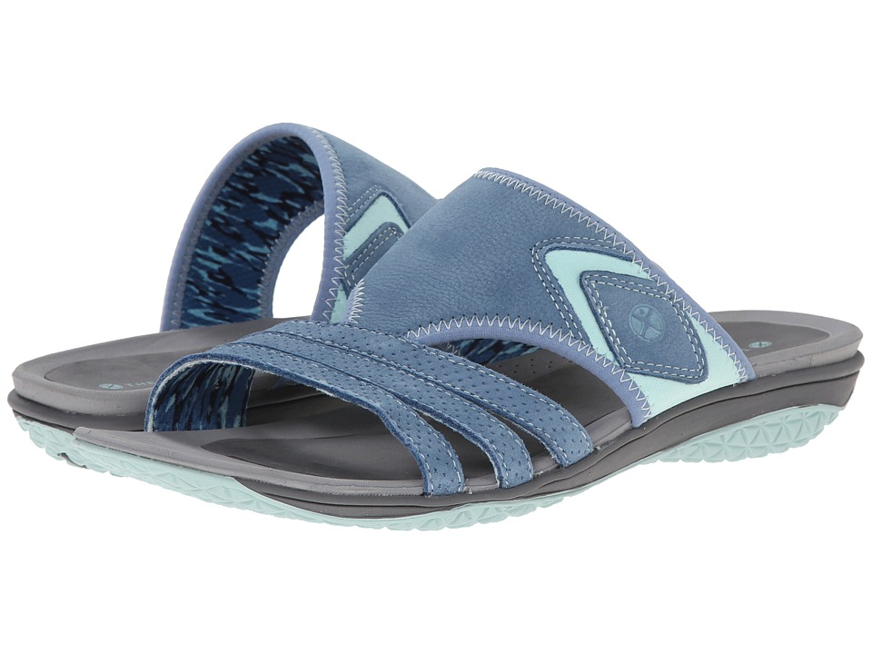 Hush Puppies - Beatrix Ione (Dusty Blue Nubuck) Women's Sandals