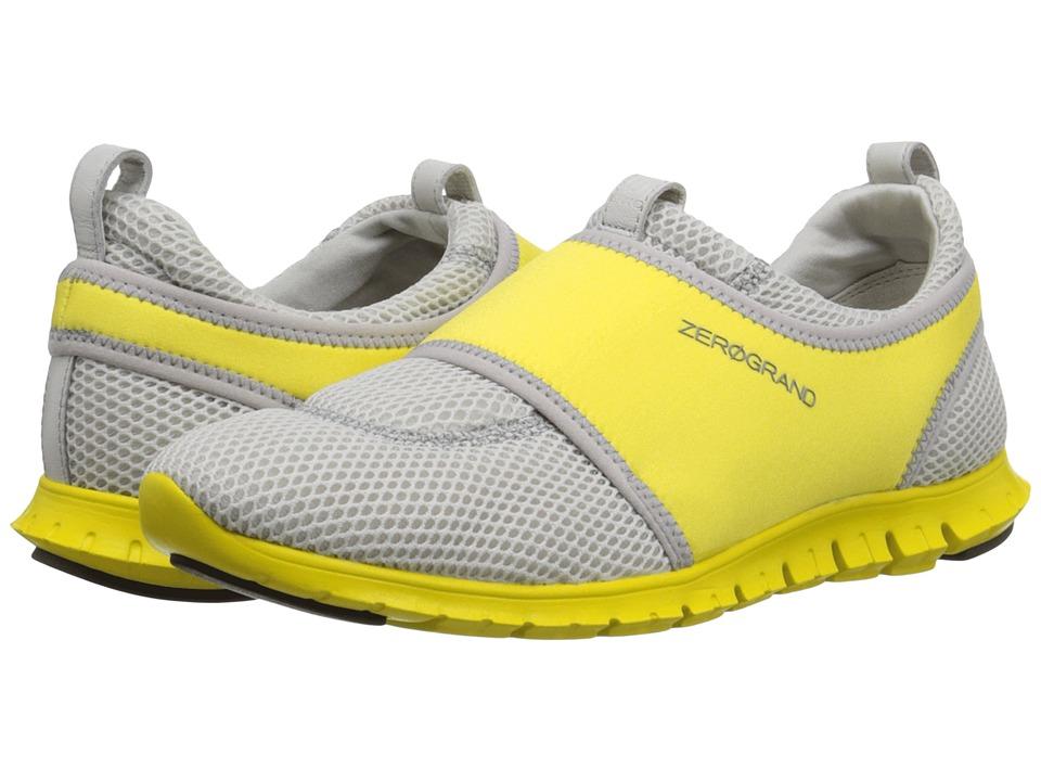 Cole Haan - Zerogrand Slip-On Sneaker (Silver Mesh/Vapor Grey/Sunray) Women