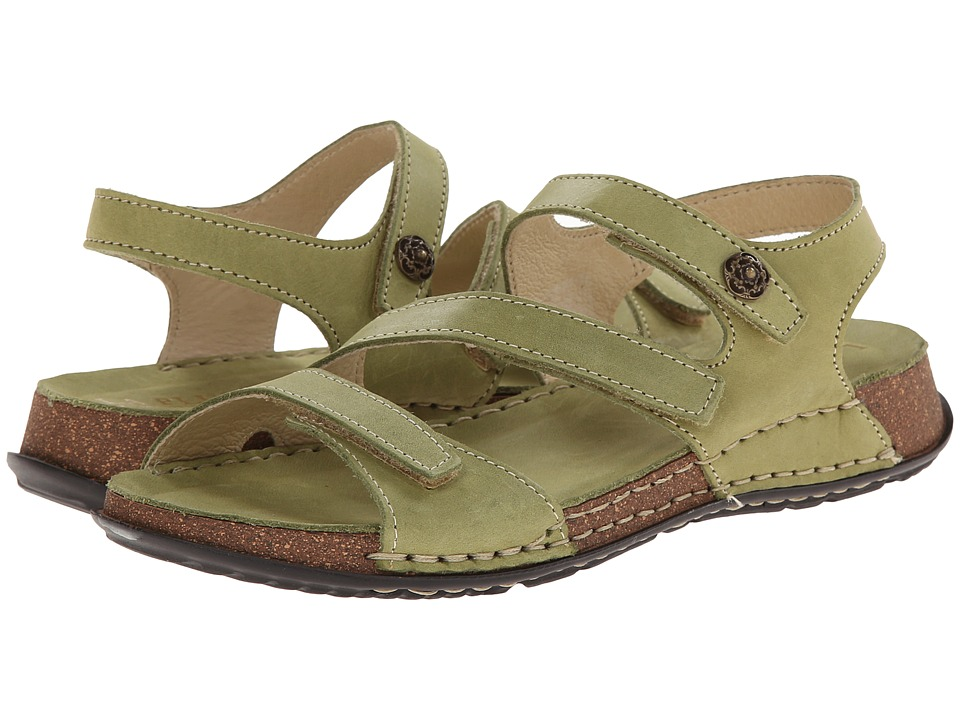La Plume - Maple (Green) Women's Shoes