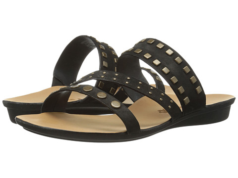 Paul Green - Casual Sandal (Black Leather) Women