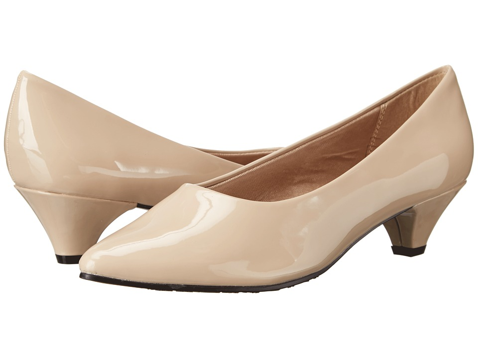 Soft Style - Alesia (Light Taupe Patent) Women's 1-2 inch heel Shoes
