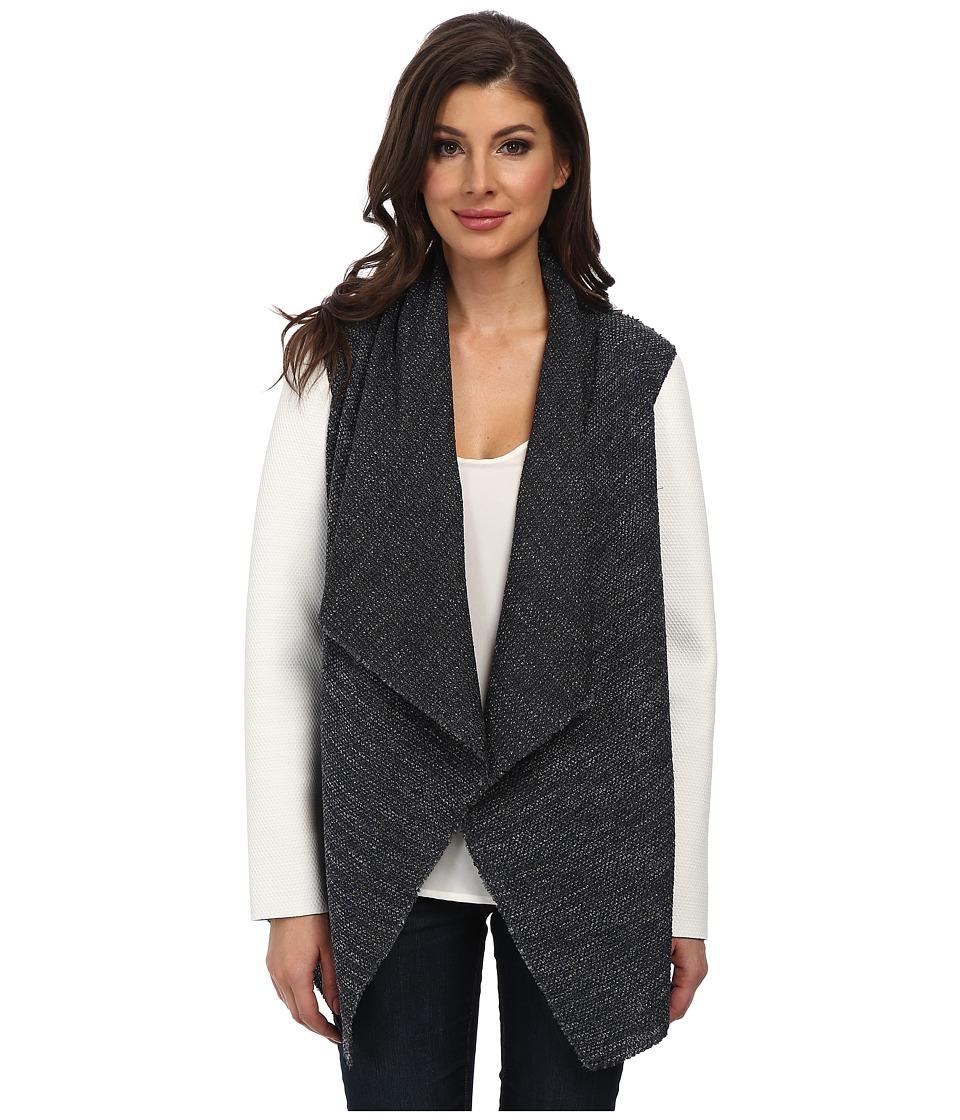 Elie Tahari - Harla Reversible Top (Grey Multi) Women's Sweater