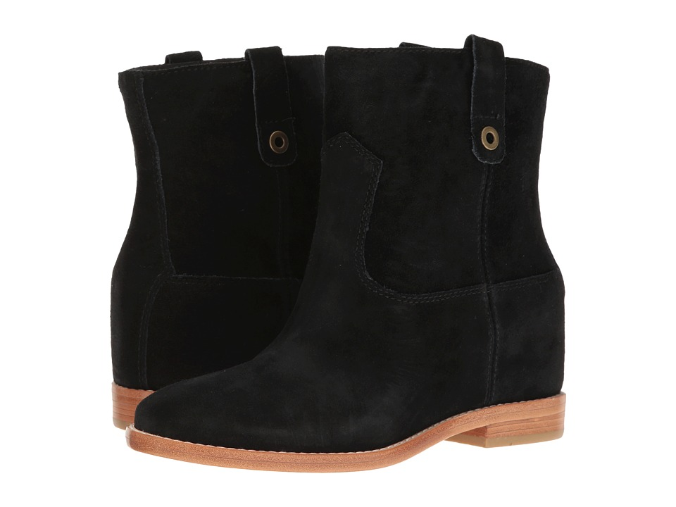 Cole Haan Zillie Boot (Black Suede) Women