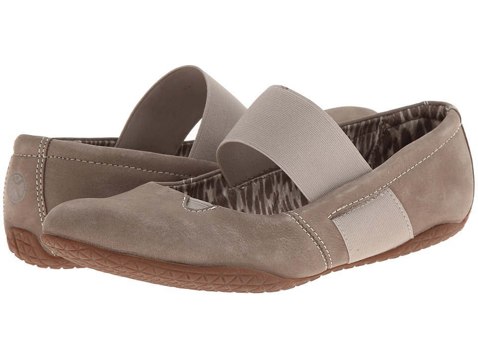 Hush Puppies - Zoe Toli (Taupe Nubuck) Women