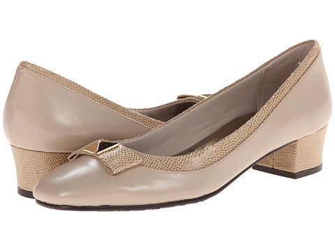 Soft Style - Santel (Light Taupe Elegance/Light Taupe Lizard) Women's Shoes