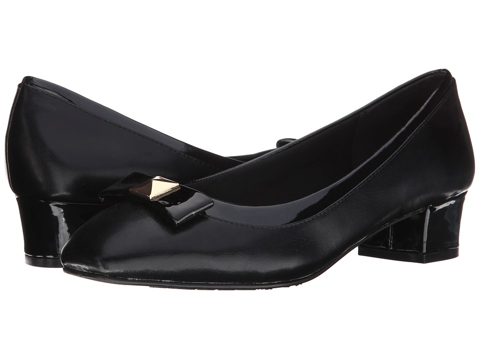 Soft Style - Santel (Black Elegance/Patent) Women's Shoes
