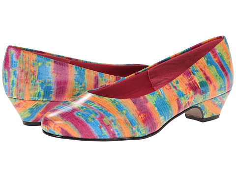 Soft Style - Angel II (Bright Multi Rainbow Snake) Women's 1-2 inch heel Shoes