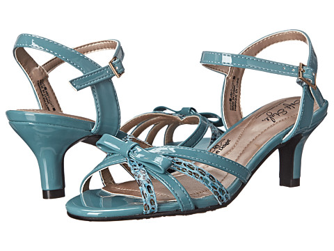 Soft Style - Mae (Soft Blue Patent/Marble Snake) Women's 1-2 inch heel Shoes