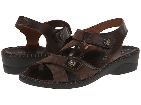 La Plume - Steffi (Brown Croco) Women