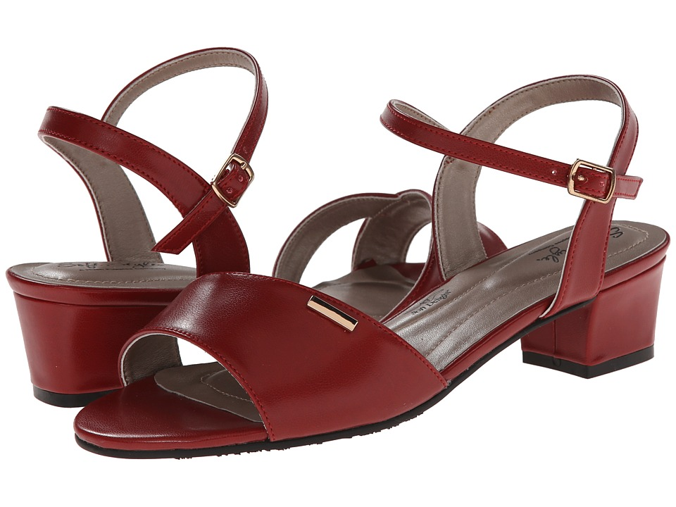 Soft Style - Erin (Red Kid) Women's 1-2 inch heel Shoes