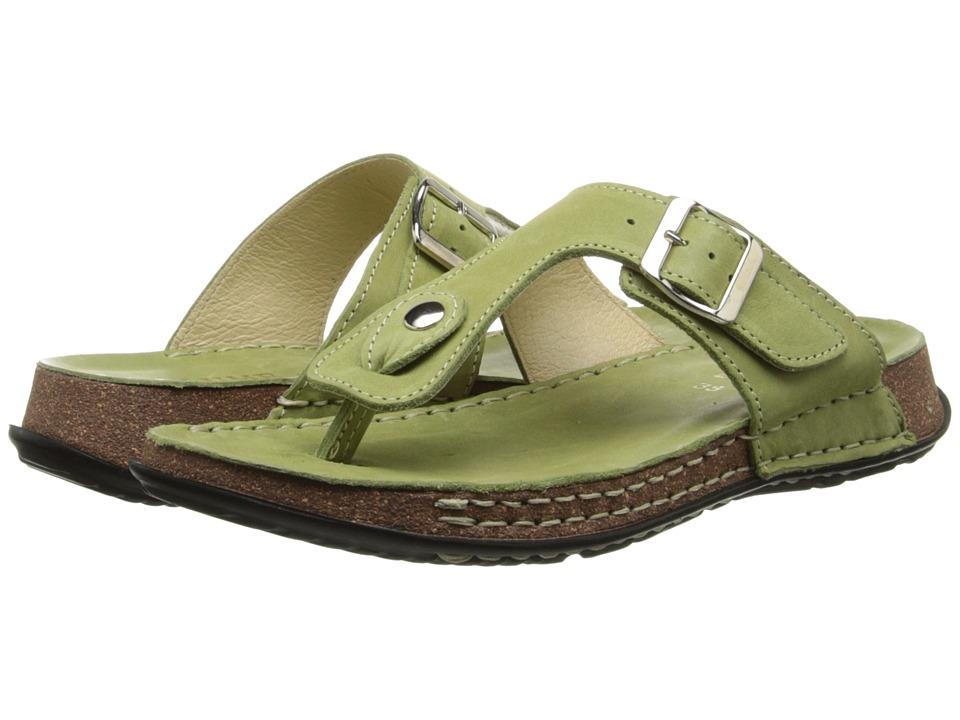 La Plume - Cactus (Green) Women's Shoes