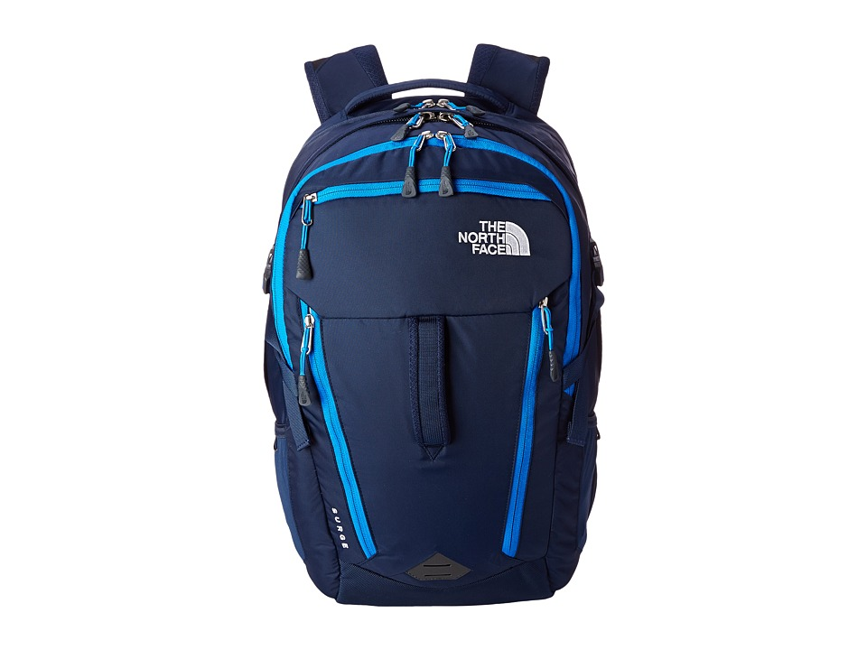The North Face - Surge (Cosmic Blue/Bomber Blue) Backpack Bags