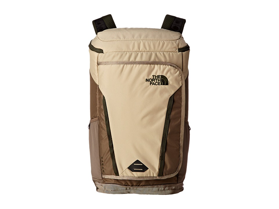 The North Face - Kaban Transit (Dune Beige/orest Night Green) Backpack Bags