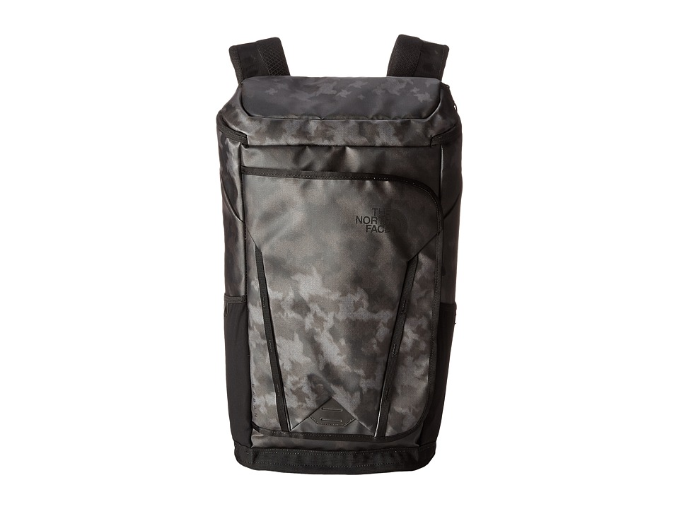 The North Face - Kaban Transit (Weimaraner Brown Houndsooth Blur Print/Pache Grey) Backpack Bags