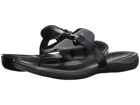 Soft Style - Rosita (Black Pearlized Patent/Black Kid) Women