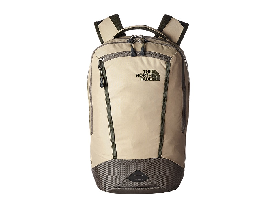 The North Face - Microbyte (Dune Beige/Forest Night Green) Backpack Bags