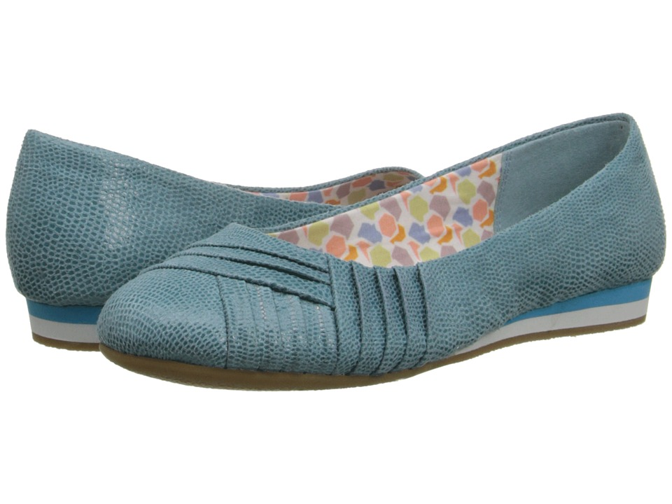 Soft Style - Corrie (Aqua Lizard Fabric) Women