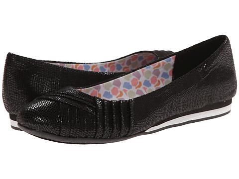 Soft Style - Corrie (Black Lizard Fabric) Women