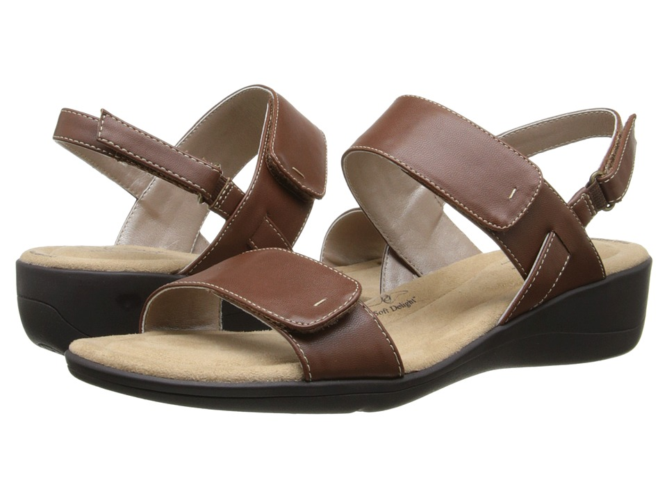 Soft Style - Wela (Mid Brown Leather) Women's Sandals