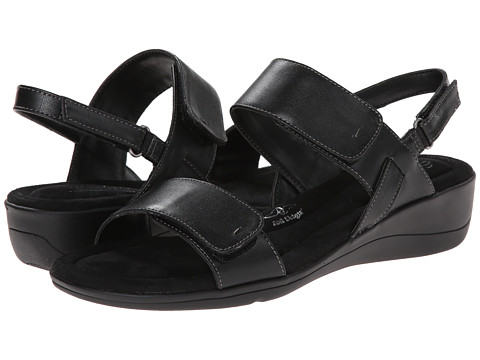 Soft Style - Wela (Black Leather) Women's Sandals