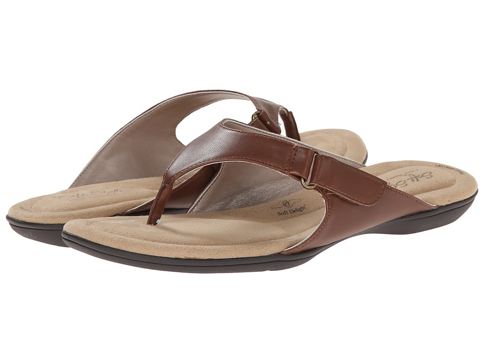 Soft Style - Ezzo (Mid Brown Leather) Women's Sandals