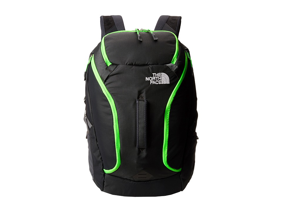 The North Face - Big Shot (Asphalt Grey/Krypton Green) Backpack Bags