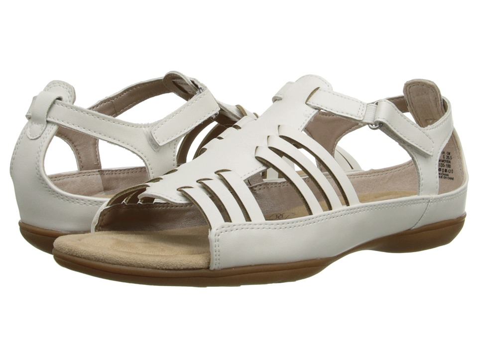 Soft Style - Eaby (White Leather) Women's Sandals