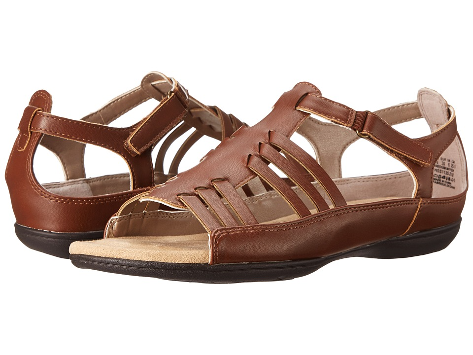 Soft Style - Eaby (Mid Brown Leather) Women's Sandals