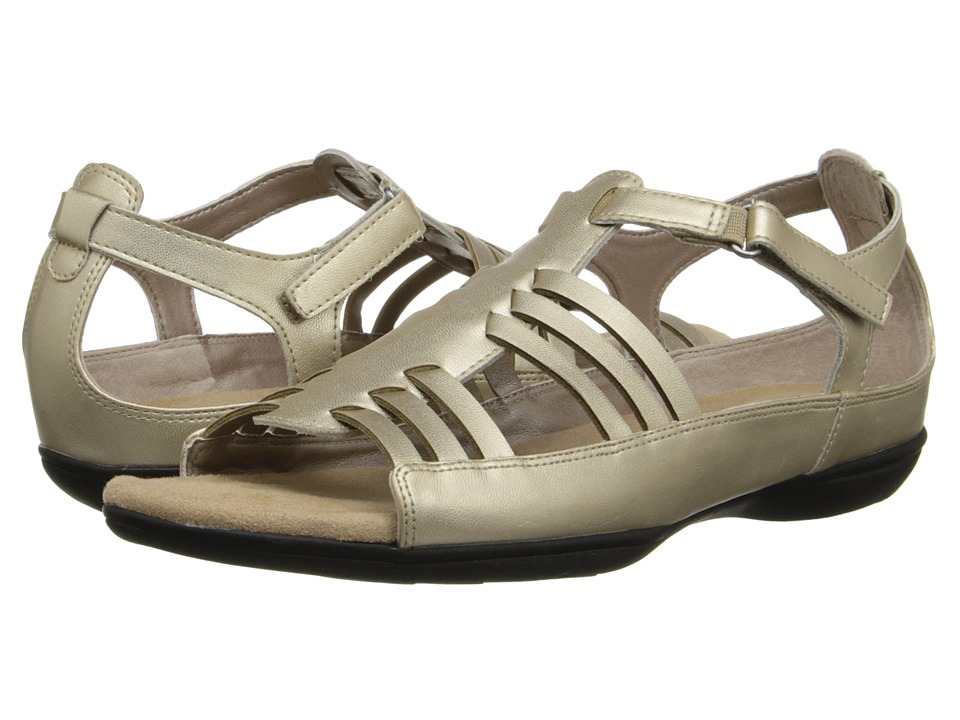 Soft Style - Eaby (Platinum Leather) Women's Sandals