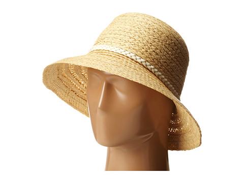 Echo Design - Lagoon Mid-Brim Hat (Natural) Bucket Caps