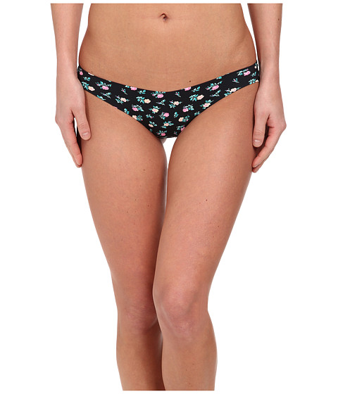 Betsey Johnson - Forever Perfect Invisible Thong J2933 (Ditsyland Raven Black) Women