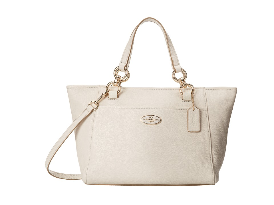 COACH - Chicago Mini Ellis Tote (LI/Chalk) Tote Handbags