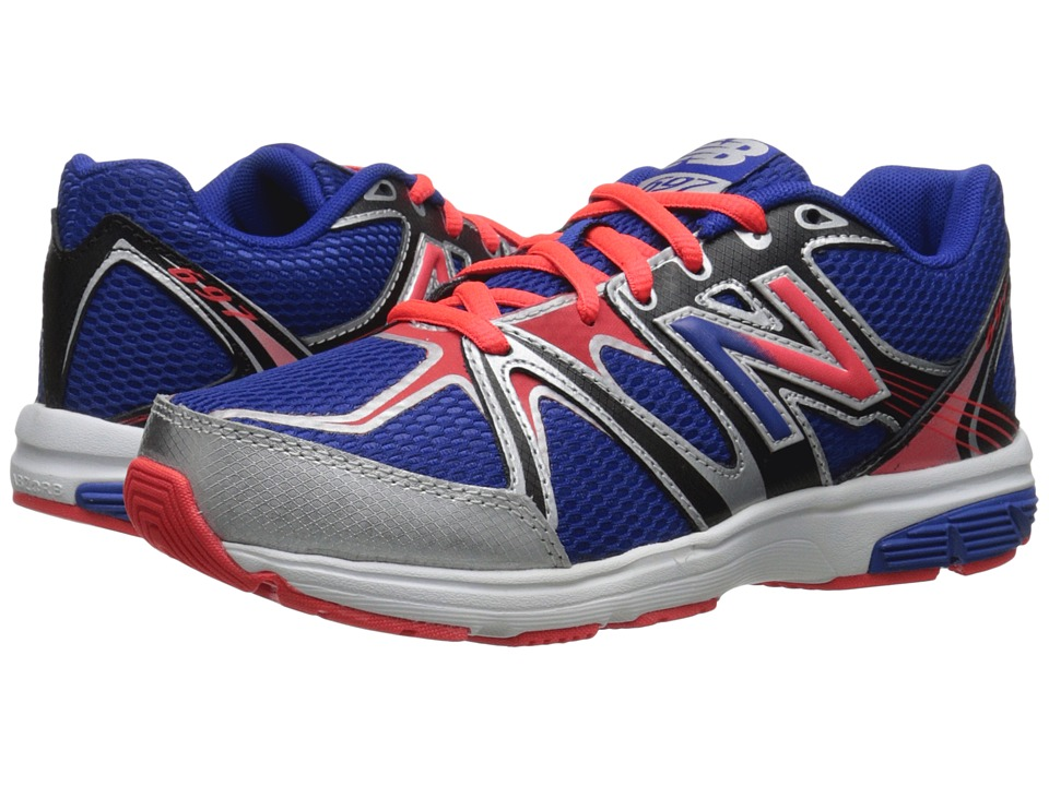 New Balance Kids - 697 (Little Kid/Big Kid) (Blue/Orange) Boys Shoes