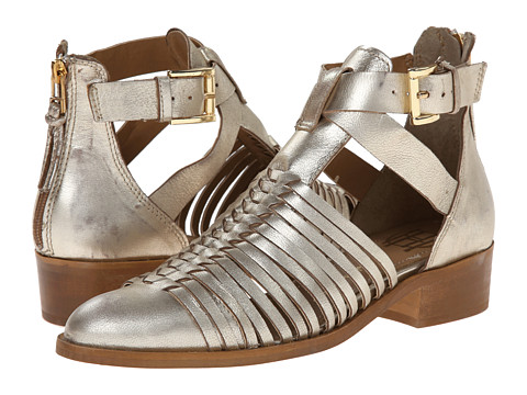 House of Harlow 1960 - Delaney (Platino) Women's 1-2 inch heel Shoes