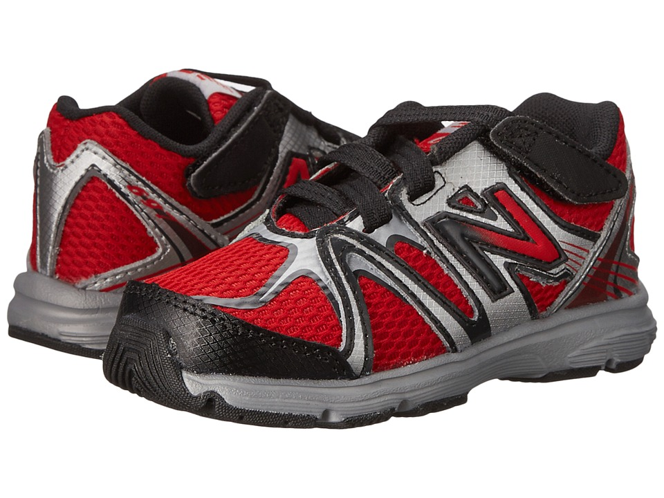 New Balance Kids 697 (Infant/Toddler) (Red/Black) Boys Shoes