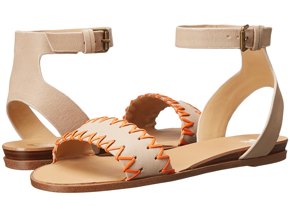 Joe's Jeans - Reba (White Leather) Women's Sandals