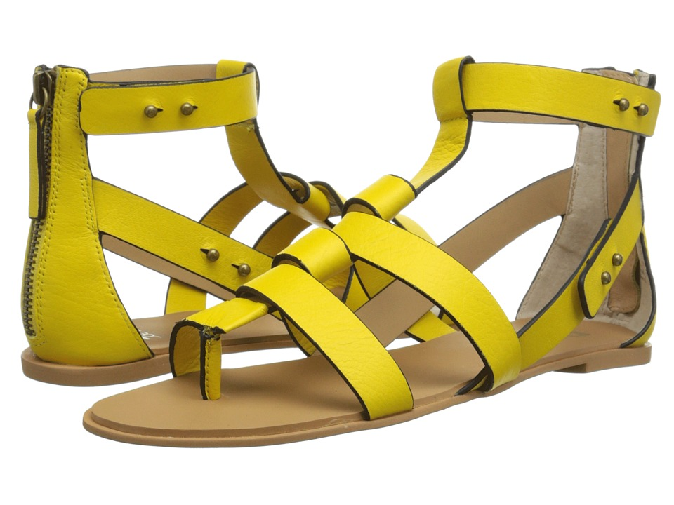 Joe's Jeans - Ranger (Lime/Yellow) Women's Sandals