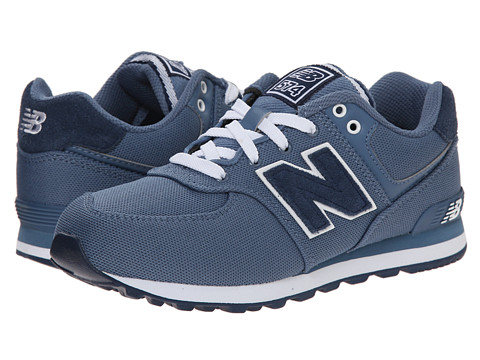 New Balance Kids - KL574 (Big Kid) (Chambray 2) Kids Shoes
