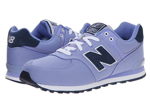 New Balance Kids - KL574 (Big Kid) (Ice Violet) Girls Shoes