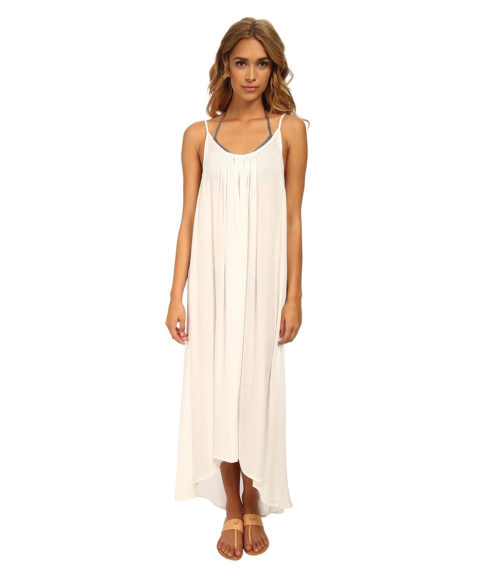 MIKOH SWIMWEAR - Biarritz Scoop Neck with Low Back Maxi Dress Cover-Up (Foam) Women's Swimwear