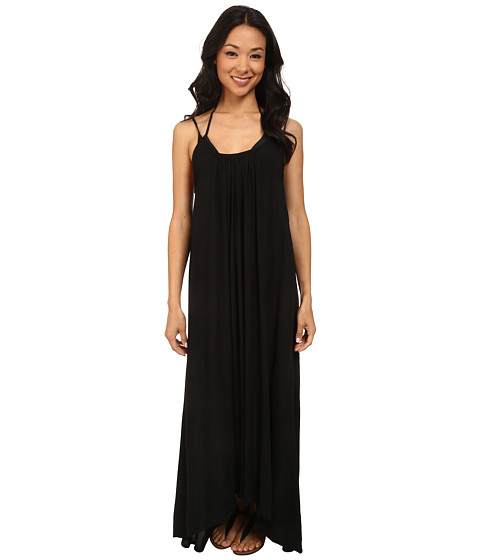MIKOH SWIMWEAR - Biarritz Scoop Neck with Low Back Maxi Dress Cover-Up (Night) Women's Swimwear