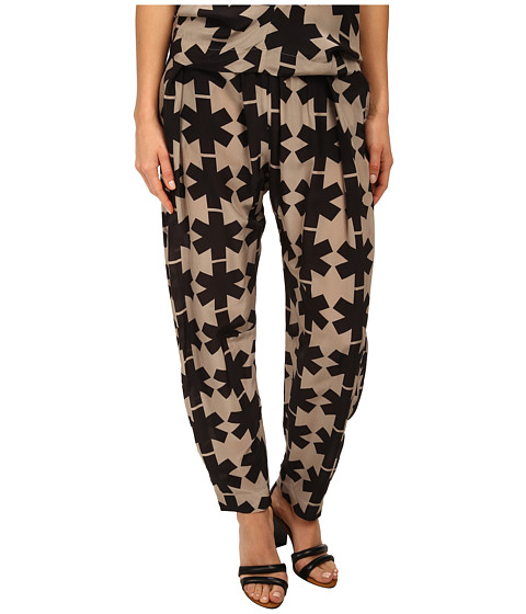 Vivienne Westwood Anglomania - Realm Trousers (Beige/Black) Women's Casual Pants