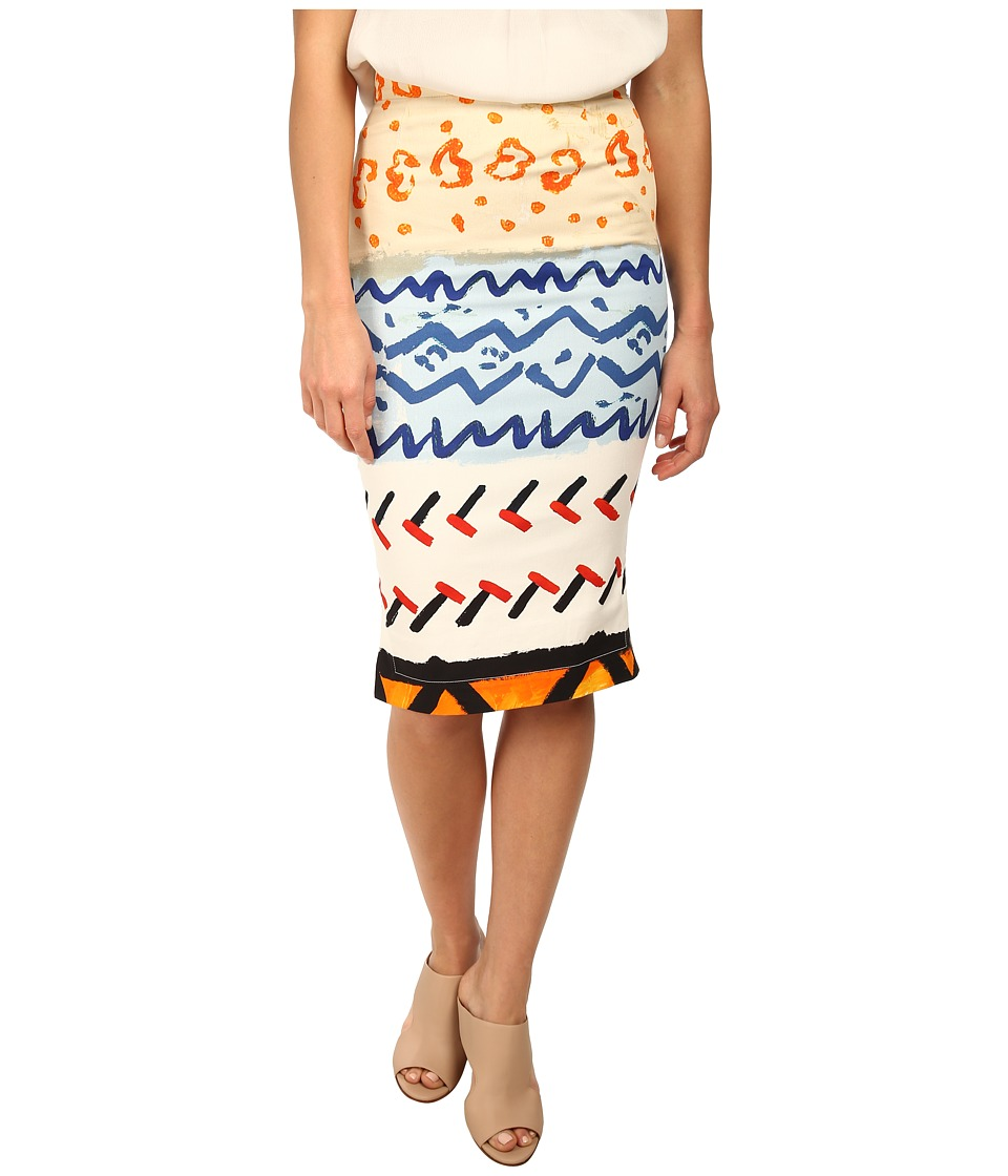 Vivienne Westwood - Basic Pencil Skirt (Multicolor) Women's Skirt